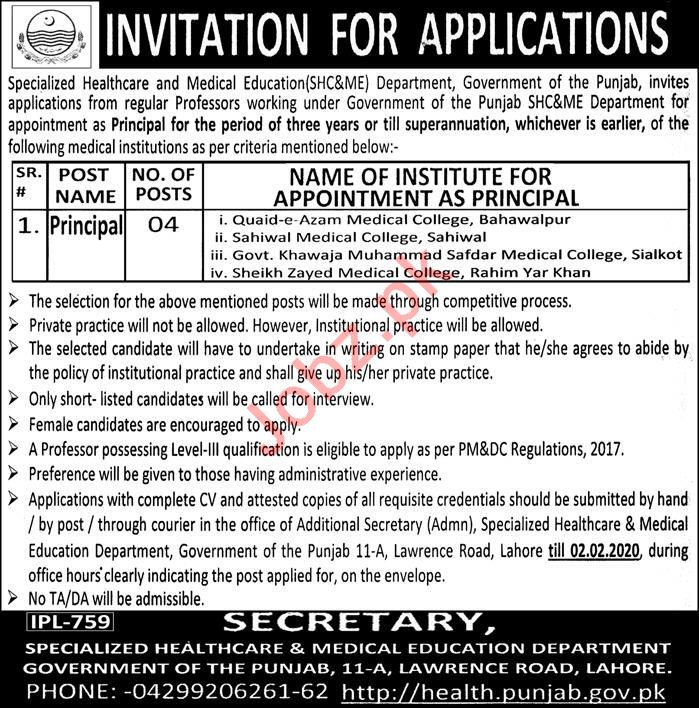 Specialized Healthcare & Medical Education Jobs 2020