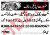 Khabrain Sunday Classified Ads 19 Jan 2020 for Medical Staff