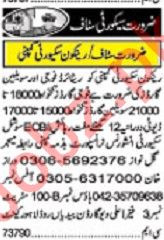 Khabrain Sunday Classified Ads 19 Jan 2020 Security Staff