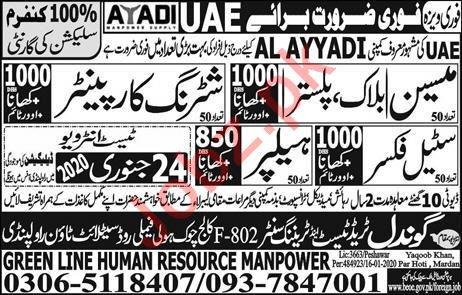 Al Ayyadi Company Jobs 2020 in United Arab Emirates UAE