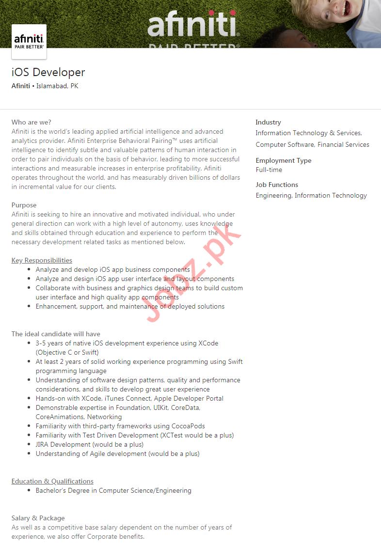 iOS Developer & Software Engineer Jobs 2020