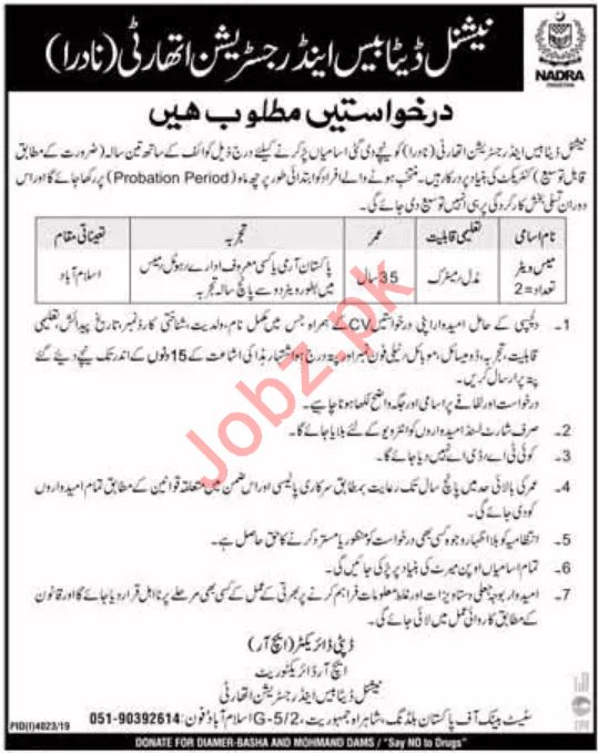 Pakistan Red Crescent Job 2020 For Hospital Administrator