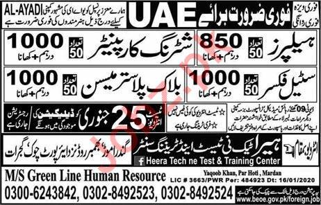 Technical Staff jobs in UAE