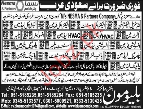 Construction & Technical Staff jobs in Sadui Arabia