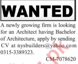 Architecture Jobs 2020 in Private Company