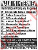 Multinational Company Jobs in Islamabad