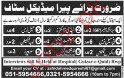 Hospital Jobs in Rawalpindi