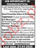 National Pharmaceutical Group Jobs in Rawalpindi