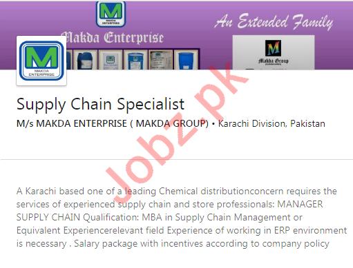 MAKDA Group Private Limited Karachi Jobs