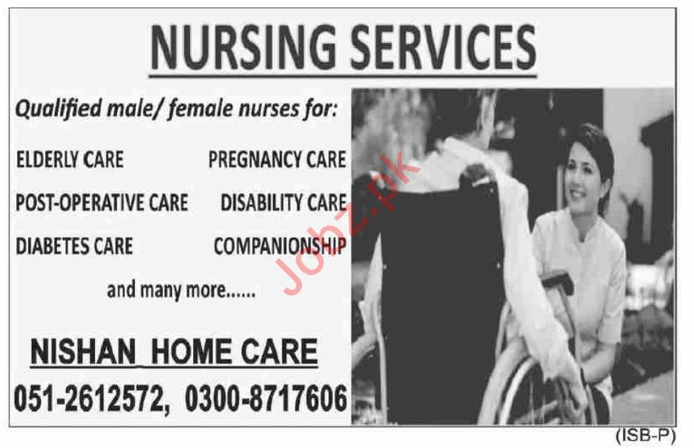 Nursing Staff Jobs in Nishan Home Care