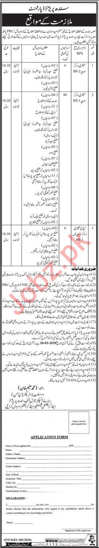 Sindh Prison Department Jobs 2020