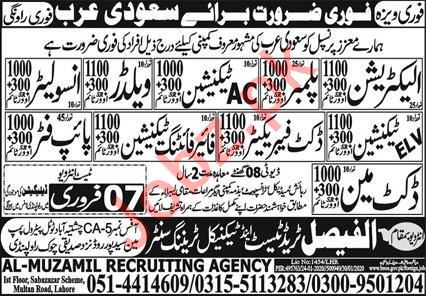 Technical Staff Jobs 2020 in Saudi Arabia