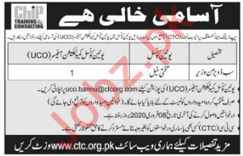 UCO Officer Jobs in Chip Training & Consulting