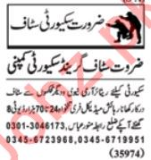 Daily Nawaiwaqt Security Staff Jobs 2020 in Lahore