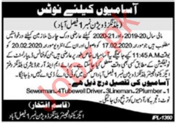 Provincial Buildings Division Jobs For Sanitary Workers