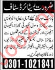 Government Retired Personnel Jobs 2020 in Gujranwala