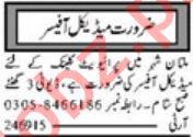 Medical Officer Jobs 2020 in Multan