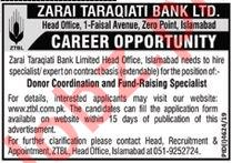 Zarai Tarakiati Bank Limited ZTBL Islamabad Jobs