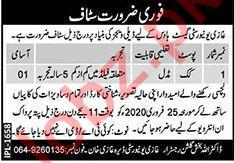 Ghazi University Guest House Jobs 2020 in DG Khan