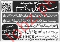 Tour and Travel Pakistan Jobs 2020 in Murree