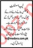 Medora Cosmetics Company Jobs 2020 in Karachi