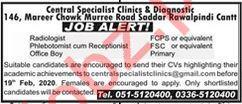 Central Specialist Clinic & Diagnostics Jobs 2020