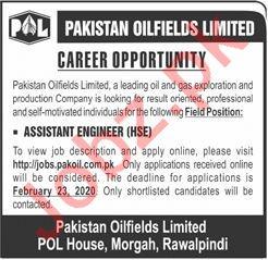 Pakistan Oilfields Limited POL Jobs 2020 in Rawalpindi