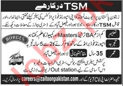 Zaitoon Pakistan Lahore Jobs 2020 for Sales Manager