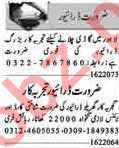 Dunya Sunday Classified Ads 16 Feb 2020 for Driving Staff