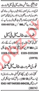 Daily Nawaiwaqt Management Staff Jobs 2020 in Lahore