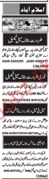 Daily Nawaiwaqt Management Staff Jobs 2020 in Islamabad
