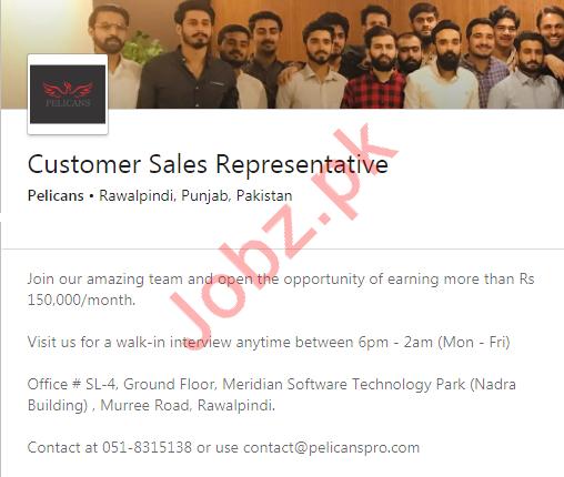 Customer Sales Representative CSR Job 2020 in Rawalpindi