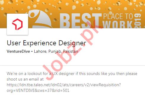 User Experience Designer Job 2020 in Lahore