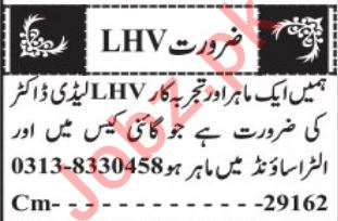 Medical Staff Jobs in Private Hospital