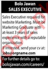 Sales Executive Job 2020 in Islamabad