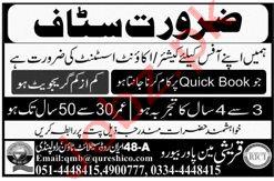 Qureshi Manpower Bureau Rawalpindi Jobs 2020