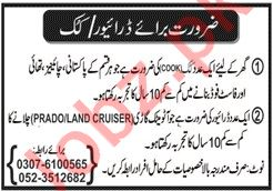 House Staff Jobs 2020 in Sialkot