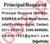Principal & Teachers Jobs 2020 in Rawalpindi