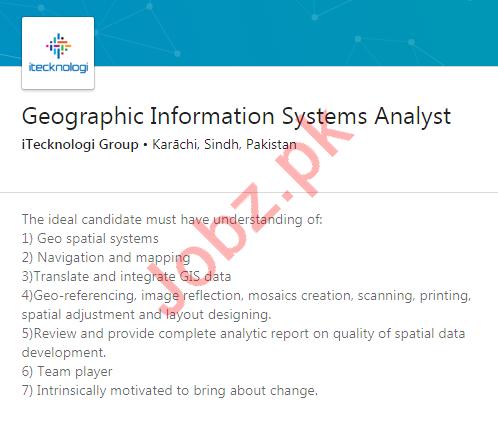 iTechnologi Group Jobs 2020 in Karachi
