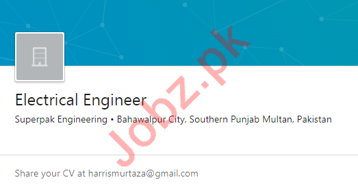Superpak Engineering Multan Jobs 2020 Electrical Engineer