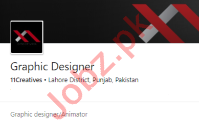 11Creatives Lahore Jobs 2020 for Graphic Designer