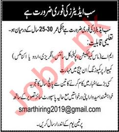 Sub Editor Jobs in Advertising Agency
