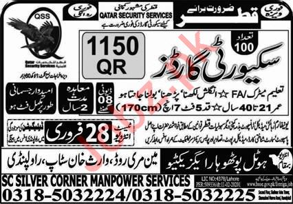 Qatar Security Services Jobs 2020 For Security Guards