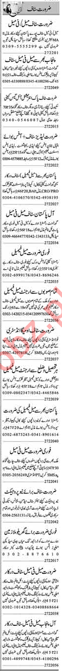 Daily Dunya Management Staff Jobs 2020 in Lahore