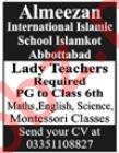 Almeezan International Islamic School Teaching Jobs 2020
