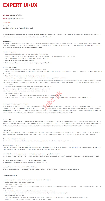 Business Solution Analyst & Expert UI Jobs 2020