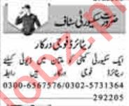 Security Guard & Driver Jobs 2020 in Lahore