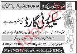 PORTA SANITARY WARE Jobs in Lahore