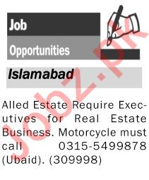 Allied Estate Executive Jobs in Real Estate Company