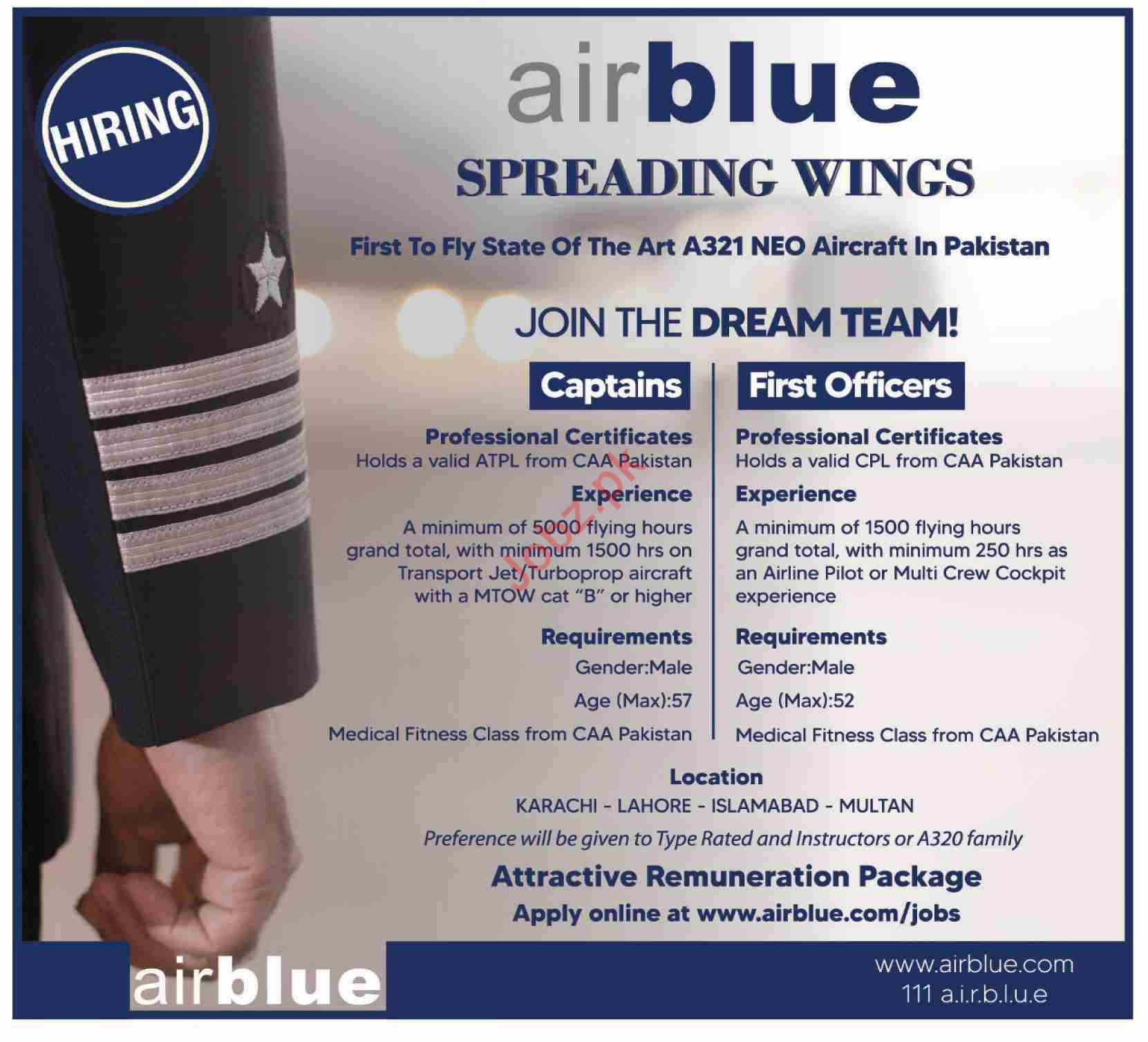 Airblue Flight Catering Private Limited Jobs 2020